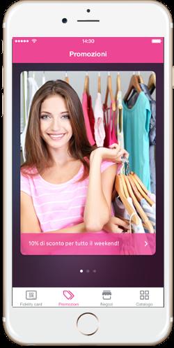 Tekio App loyalty, la fidelity per il retail innovativo, mobile e omnicanale, promozioni in negozio, sconti