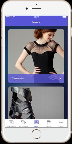 App loyalty, la fidelizzazione retail mobile e omnicanale per i tuoi negozi, news mobile