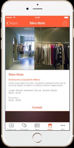 App loyalty, la fidelizzazione retail mobile e omnicanale per i tuoi negozi coupon virtuali, carta fedeltà, store locator