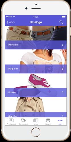 Tekio App loyalty, la fidelity fidelizzazione per il retail, Tessera virtuale, Push Notification, Couponing Virtuale, Localizzazione cliente in negozio