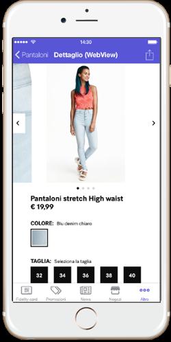 Tekio App loyalty, la fidelizzazione retail mobile e omnicanale per i tuoi negozi m commerce catalogo prodotti